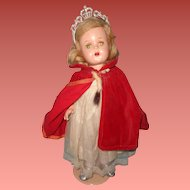 "Factory Original Princess Elizabeth 17"" Composition Doll ~ Madame Alexander~ Gift Giving Condition"