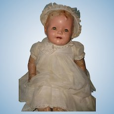 """25"""" Happy Baby Composition Doll ~ Precious TLC Baby ~ Parts  Repair  Assemblage Art"""
