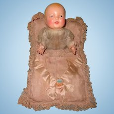 Early Effanbee Bubbles Composition CLAPPING HANDS Baby Doll ~ Gift Giving Condition
