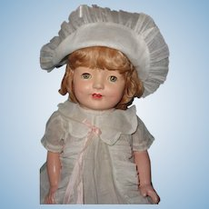 "Large Factory Original 26"" Composition Mama Doll ~ Beautiful Matt Finish ~ Gift Giving Condition"