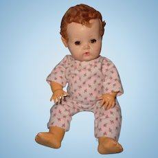 "Effanbee 11"" Dy-Dee Baby Doll w/  Tosca Hair color"