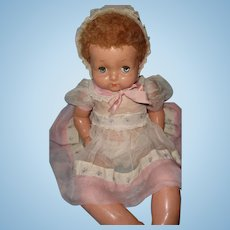 "Effanbee Factory Original 24"" Sweetie Pie Composition Doll"