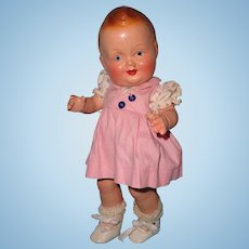 Baby Sandy Composition Doll by Freundlich