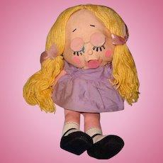 Rare Mattel SHRINKIN VIOLETTE Talking Doll w/ Box ~ Works!