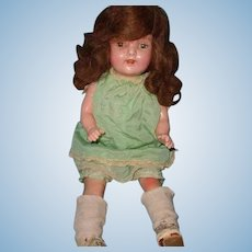"Very Pretty 20"" Composition Mama Doll ~ Century Doll Co"