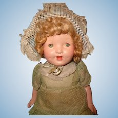 "Pretty 21"" Factory Original Composition Mama Doll"
