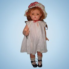 "Effanbee Patsy Lou 22"" Composition Doll"