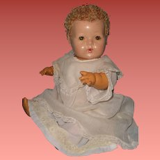 """Effanbee Dy-Dee Blonde Curacal 15"""" Baby Doll ~ Adorable"""