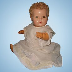 "Effanbee Dy-Dee Blonde Curacal 15"" Baby Doll ~ Adorable"