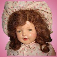 """Pretty 24"""" Composition Mama Doll"""
