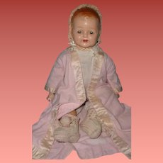 Early Molded Hair Composition Baby Doll ~ Cutie