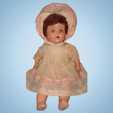 1940s Factory Original Composition Baby Doll ~ Precious
