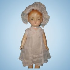 "Large 25"" Regal Composition Doll ~ Factory Original"