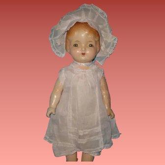 "Large 25"" Regal Composition Doll ~ Factory Original"