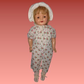 """Adorable Large 26"""" Lovums Toddler Composition Baby Doll"""
