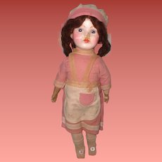 """Early Factory Original Composition 17"""" Doll ~ Sweet"""