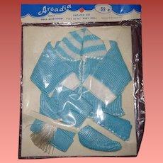 MIP Blue Sweater Set for Effanbee Dy Dee Baby
