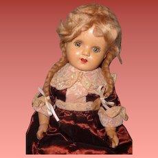 """Pretty 21"""" Composition Mama Doll"""