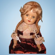 "Pretty 21"" Composition Mama Doll"