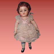 """Chunky All Bisque German 7.5"""" Doll"""
