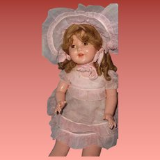 """Factory Original 26"""" Composition Mama Doll ~ Pretty in Pink"""