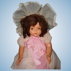Dolly Reckord Talking Phonograpgh Composition Doll w/ Cylinder ~ TLC