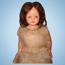 "27"" Effanbee Rosemary Composition Mama Doll ~ Very Pretty Girl"