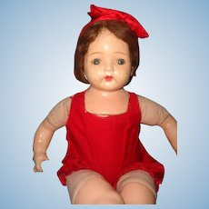 """Large 27"""" Composition Mama Doll ~ TLC Dolly"""