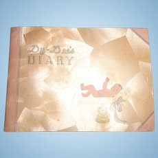 Authentic Effanbee Dy-Dee Baby Doll Diary