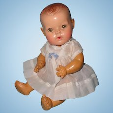"Adorable 11"" Dy-Dee Baby Doll by Effanbee"