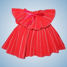 "Shirley Temple Pleated Dress for 11"" Ideal Composition Doll"
