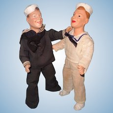 Freundlich Sailor Brothers Composition Doll WW11