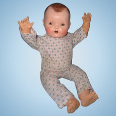 """Rare 20"""" Mold 1 Dy-Dee Lou Baby Doll by Effanbee ~ Precious!"""