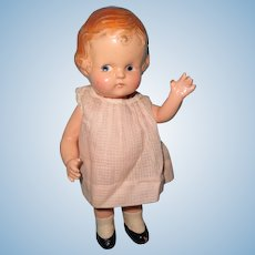 "Factory Original Arranbee 9"" Composition Doll ~ Kewpie Like"