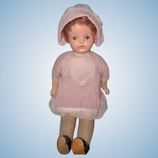 "Early Factory Original Ideal Composition 18"" Mama Doll"