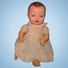 """Effanbee Dy-Dee 15"""" Mold 1 Brunette Baby Doll"""