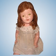 """Lovely Factory Original 25"""" Composition Mama Doll"""
