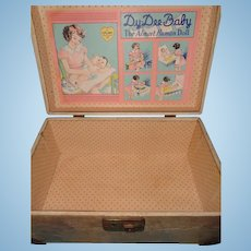 Dy-Dee Baby Doll Wooden Trunk