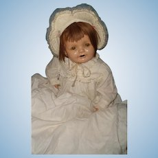 Adorable Large Lifelike Composition Baby Doll