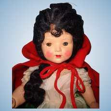 Factory Original LARGE Little Red Riding Hood Composition Doll