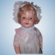 "Large 25"" Composition Doll"