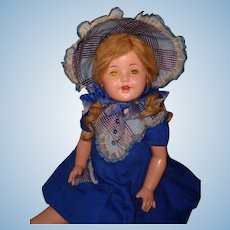 "Beautiful 26"" Factory Original Composition Mama Doll"