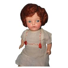 Very Early Ideal Composition Mama Doll ~ Sweet