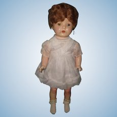 "Very Pretty 25"" Composition Mama Doll"