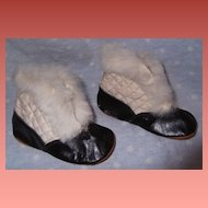 Great doll shoes or slippers for your Bisque or Composition doll