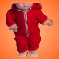 Adorable Snow Suit for your Effanbee Patsy Composition Doll