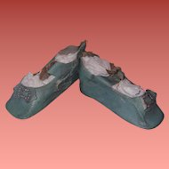 Large Oilcloth Shoes for your Bisque or Composition Doll