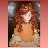 Lovely C.M. Bergmann Germany bisque composition doll