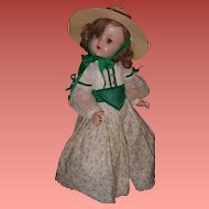 "Large 24"" Southern Belle Composition Doll"