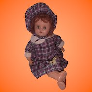 Sweet Composition Mama Doll in Plaid